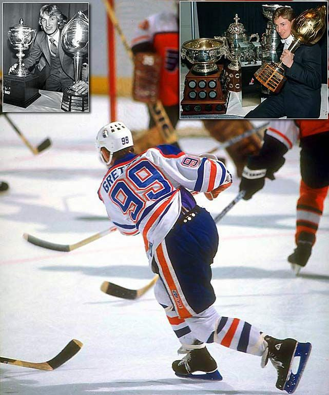 Wayne Gretzky: Notable NHL Award