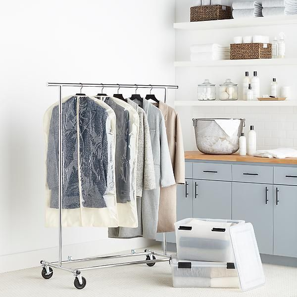 Clothes Rack Chrome Metal Folding Commercial Clothes Rack Aufbewahrung Waschestander Kleidung