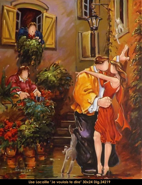 Lise Lacaille original oil painting on canvas #liselacaille #art #artist #canadianartist #quebecartist #originalpainting #oilpainting #whimsical #people #multiartltee