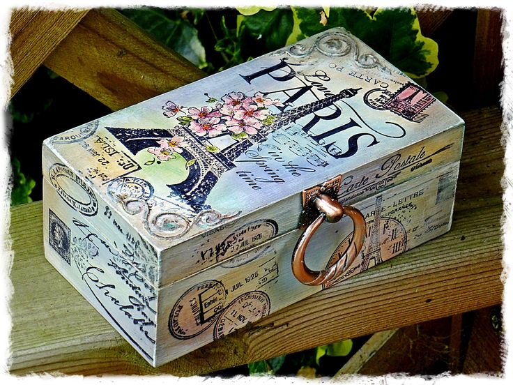 Shabby paris box