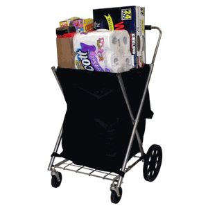 Smart Cart 157337 Personal Shopping Cart - The EZ Roller