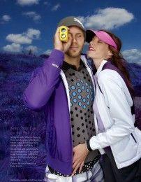 NATALIA ZURAWSKA | Judy Inc Makeup and Hair for Golf Style Magazine Photography by Dan Lim