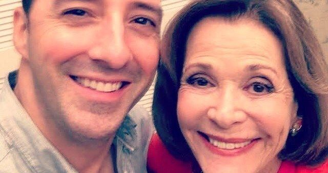 First Arrested Development Season 5 Photo Reunites Buster & Lucille -- Tony Hale shares a photo from behind-the-scenes of Arrested Development season 5 alongside Jessica Walter. -- http://tvweb.com/arrested-development-season-5-photo-buster-lucille/