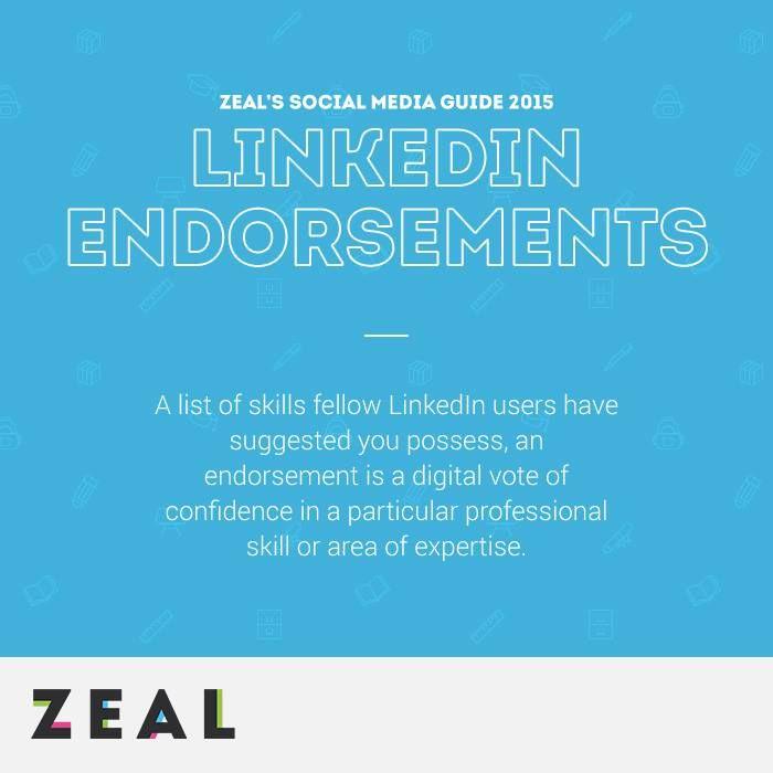 Social Media Glossary: LinkedIn Endorsements #SocialMedia #Marketing