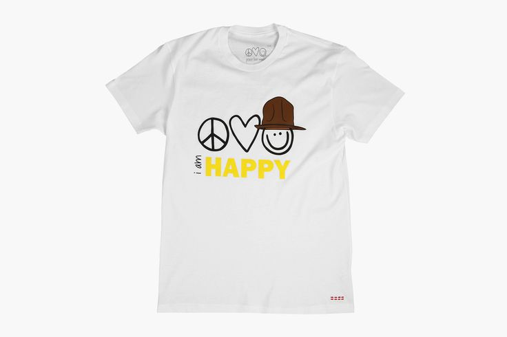 Peace Love World x Pharrell Williams Capsule Collection •