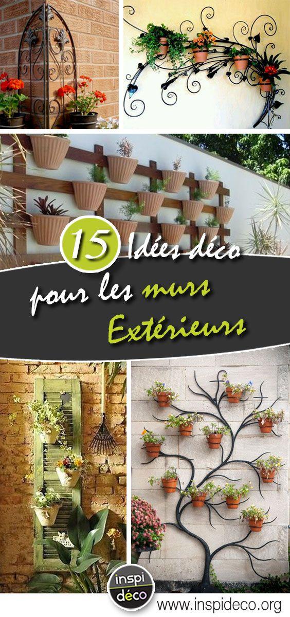 23++ Decorer un mur de jardin inspirations
