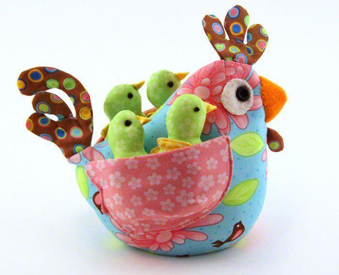 .gallina y pollitos                                                       …