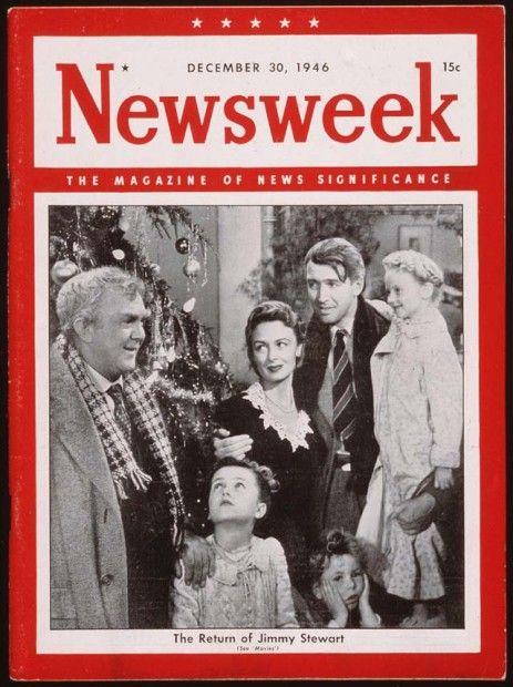 The Return Of Jimmy Stewart Newsweek December 30 1946 It 39 S A Wonderful Life Stars Of