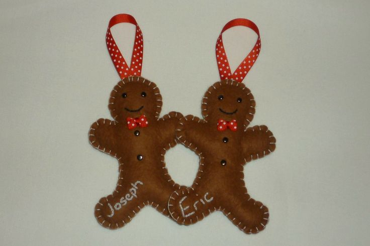 Personalised Gingerbread Men