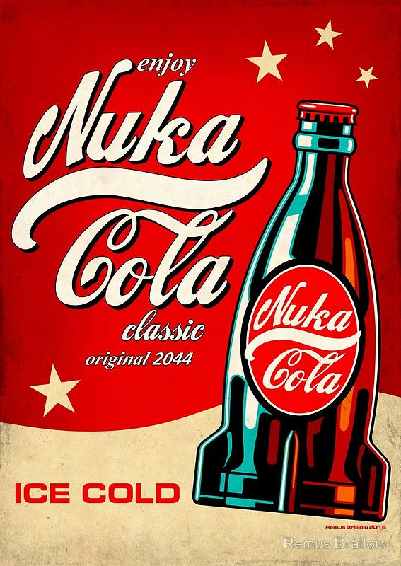 """""""Nuka Cola"""" Photographic print by Remus Brailoiu 