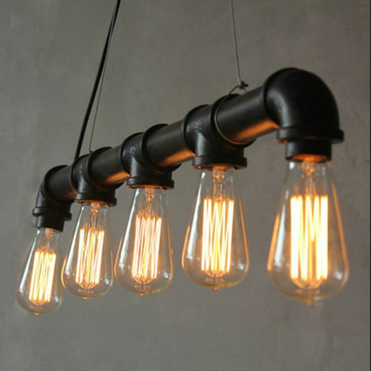 Cheap lamp rgb, Buy Quality light years lamps directly from China light stand lamp Suppliers: Edison Personalized  Vintage Loft Industrial Pulley Water Pipe Pendant Lights Hanging Lamp for Warehouse 5pcs E27 Bulbs