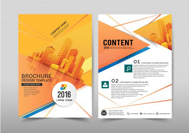 Vector Abstract Background Brochure Flyer Template A4 Size Design Free Flyer Design Flyer Poster Background Design