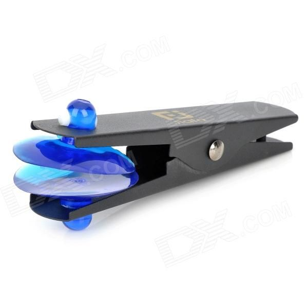 Brand: N/A; Quantity: 1 Piece; Color: Black + blue; Material: Stainless steel; Compatible Models: Universal; Other Features: Easy to remove screen without damaging other parts of the device; Packing List: 1 x Suction cup clip; http://j.mp/VIOMBr