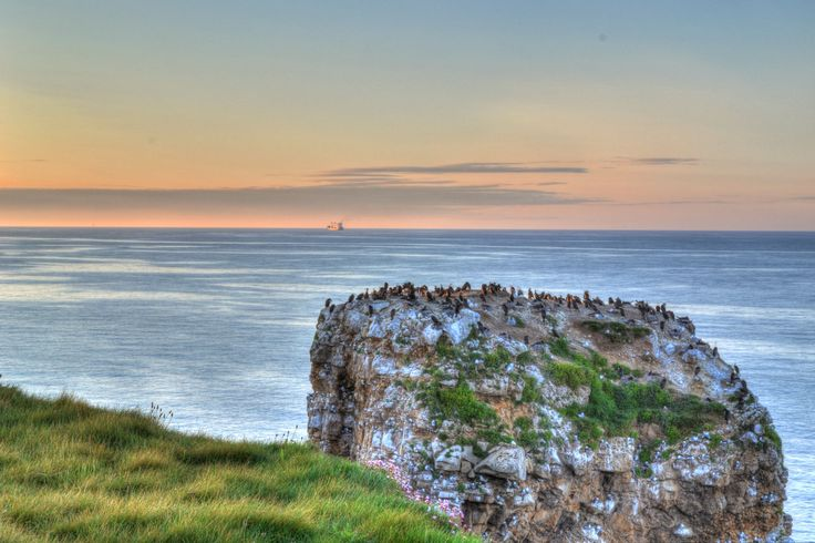 Cliffside Rocks HDR