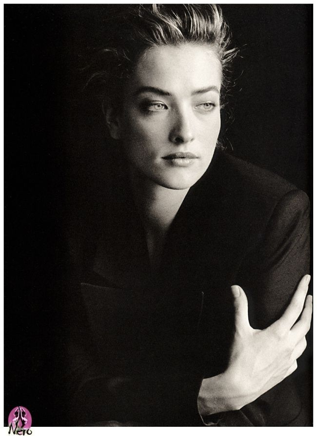 Tatiana Patitz - my favorite model and star of so many inspiring photos from the 90's from photographers such as Peter Lindbergh, Herb Ritts, and Nick Knight