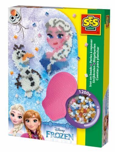 Kraina lodu KORALIKI DO PRASOWANIA  Elsa Frozen - zabawki kreatywne dla dziewczynek