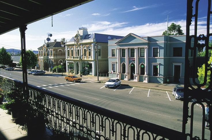 Mudgee, in country New South Wales, has many historic buildings.