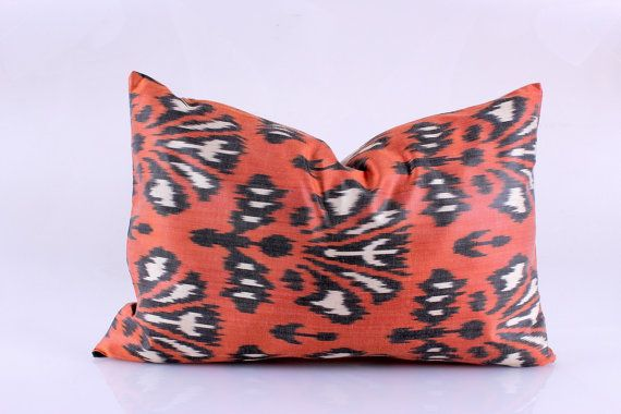 Ikat Pillow, Hand Woven Ikat Pillow Cover, Ikat throw pillows, Ikat Pillow, Designer pillows, Decorative pillows, Accent pillows