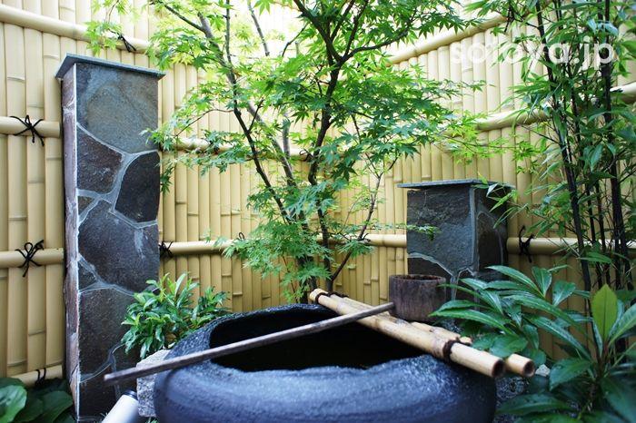 つくばい Japanese garden traditional style