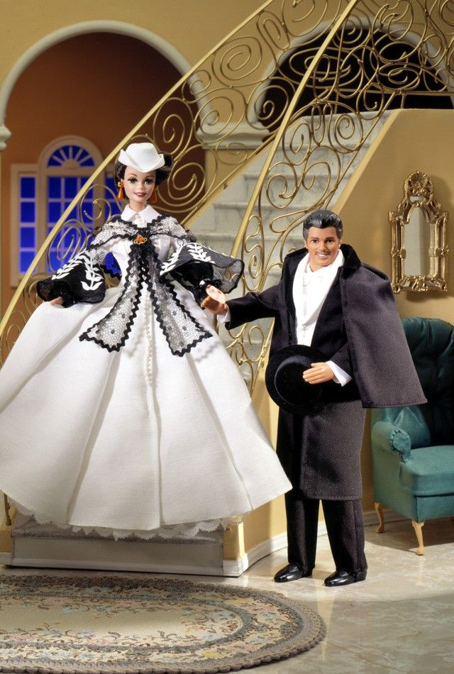 OWN - Rhett Butler & Scarlett Honeymoon Barbie 1994 - Hollywood Collections