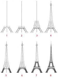 illustration de la tour eiffel