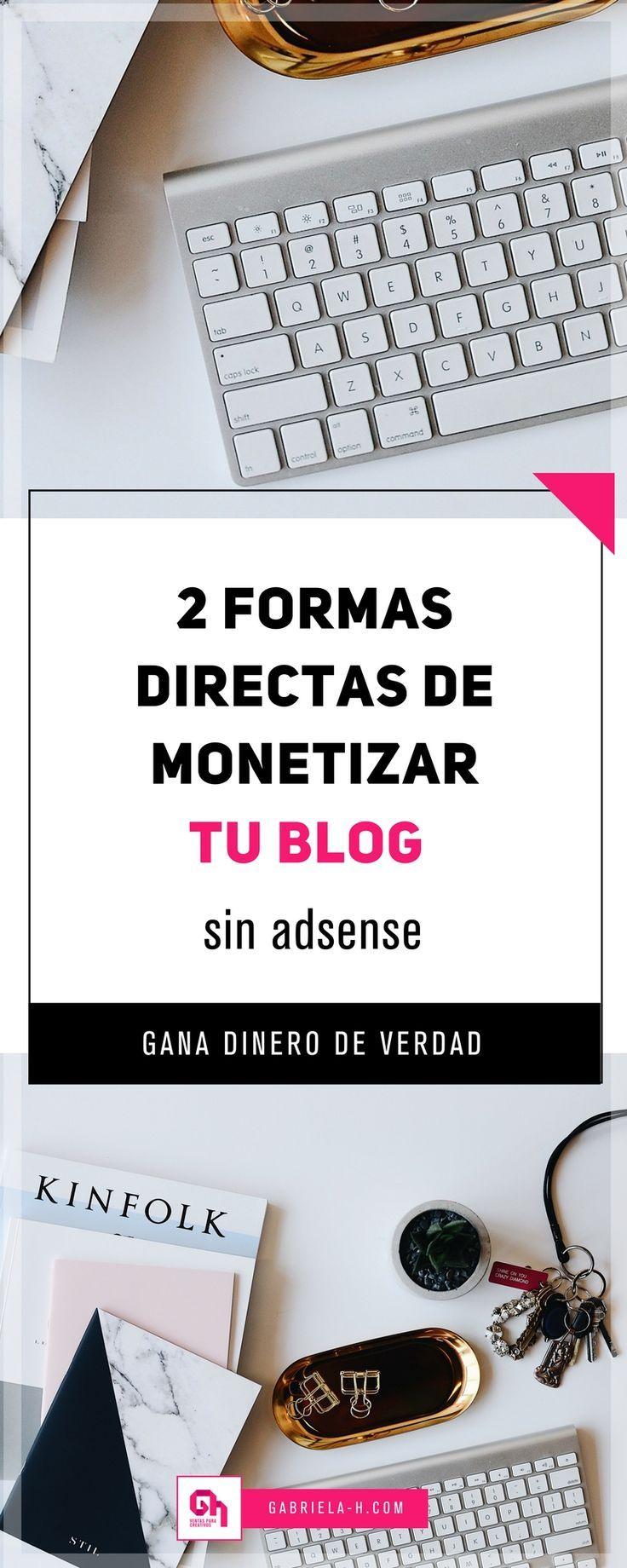 Ya tomaste en serio tu blog. Y ahora, ¿como lo vas a monetizar? En este post te comparto dos formas de monetizar tu blog para que puedas enfocarte a hacerlo este mes.  #blogging #blog #emprenderonline #negociosonline