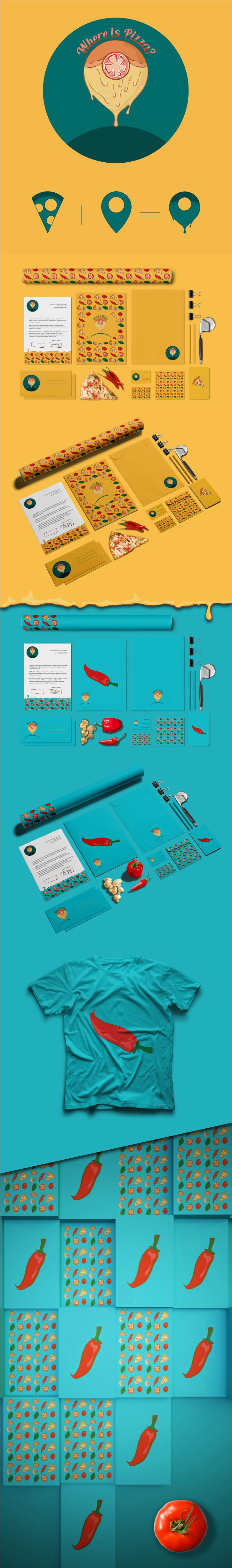 27 best pizza images on Pinterest | Pizza logo, Pizza branding and ...