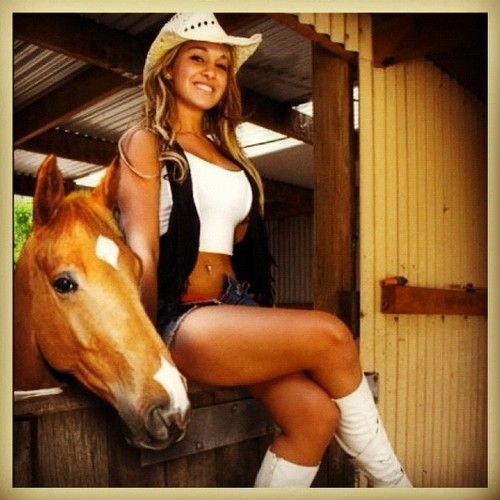 - Cow Girl - | Hotstagram | Pinterest | Cow girl, Cow and ...