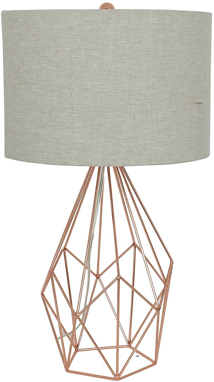 The 25 best rose gold lamp ideas on pinterest bedroom for Rose gold floor lamp uk