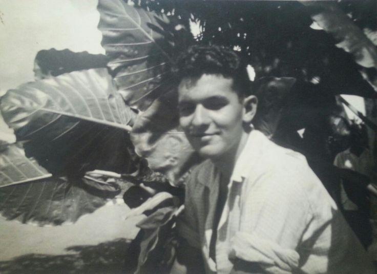 Dad as a teenager, , Cienfuegos,  Cuba