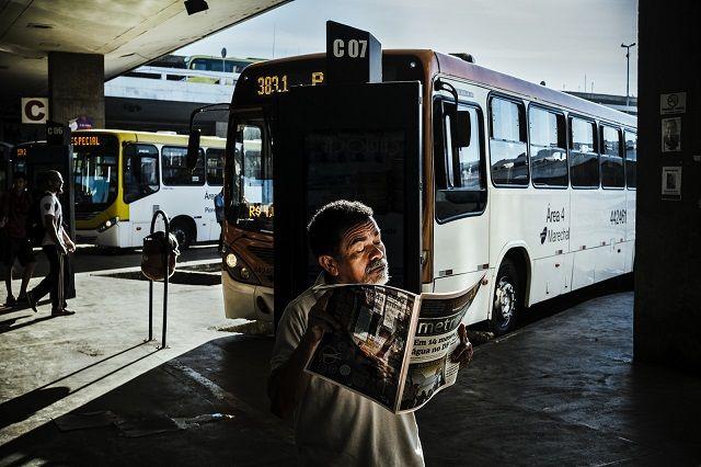 Bus Stop by Gustavo Minas
