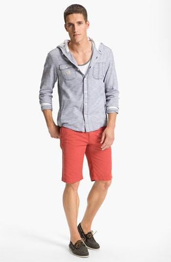 DIESEL® Shirt Jacket, Public Opinion Tank Top & BOSS Orange Shorts | Nordstrom
