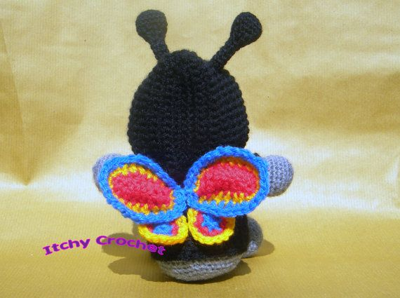 Inchoate Butterfly Hoodie Crochet Pattern by ItchyCrochetDesigns