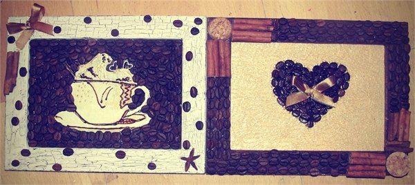 Кофейные картины на кухню