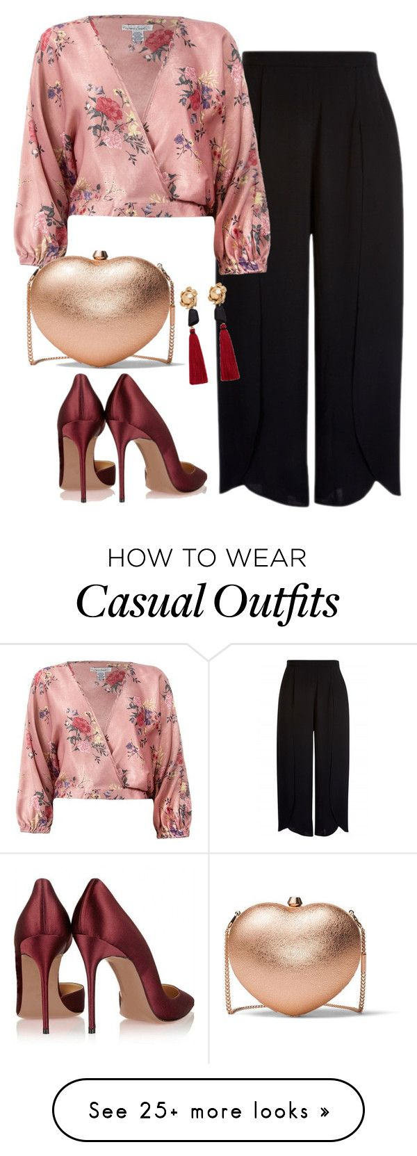 """""""Casual"""" by history-lover on Polyvore featuring Sans Souci, MANGO, MICHAEL Michael Kors, casualoutfit, CasualChic and parisfashionweek"""