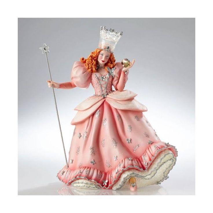 Enesco Warner Bros. Couture De Force Gift Glinda Figurine 9.25-inch