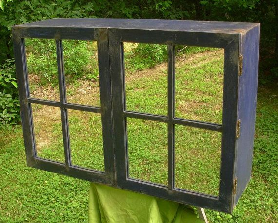 Large Cabinet  TV cover  wall mounted by LuckyMargo on Etsy, $325.00