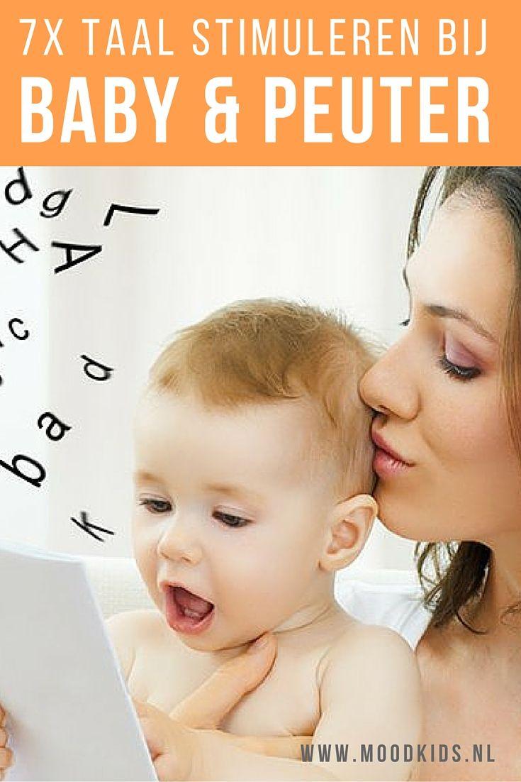 Lees deze 7 tips om de taalontwikkeling bij babys en peuters te stimuleren.