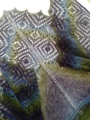 "Knitting Stories by Venera: Инструкция по вязанию шали ""Перекати-Поле-2"""