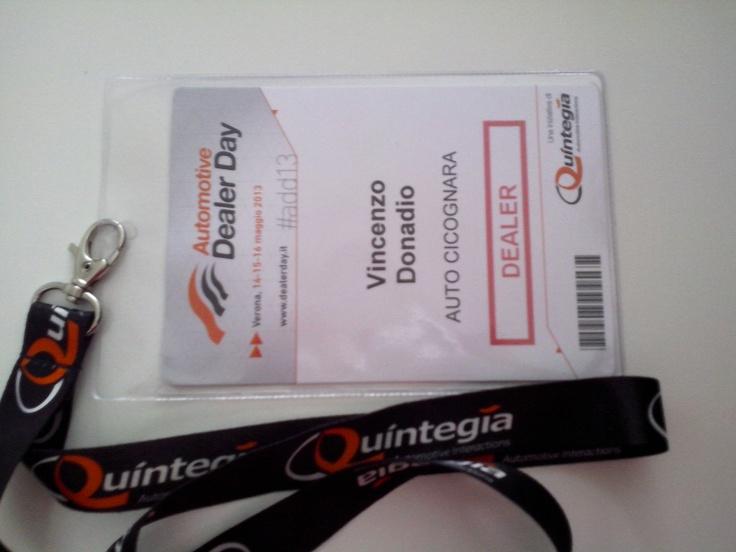 Badge Dealer Day 2013 Vincenzo Donadio ( Auto Cicognara )
