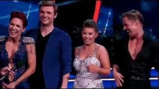 "Bindi Irwin & Derek vs Nick Carter & Sharna ""Samba Dance Off"" Week 10 – DWTS (Simi Finals) - YouTube"