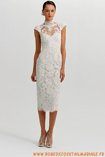 Belle robe de mariée 2012 pas cher en ligne dentelle