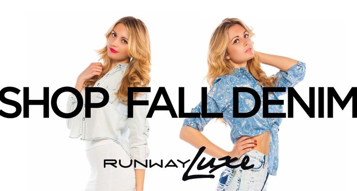 ~ Get Fierce for the Fall with Runway Luxe Denim ~ #fall #fashion #denim #luxe www.runwayluxe.com