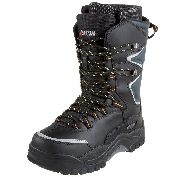 Baffin Lighting Insulated Men's Winter Boot (Black/Charcoal)