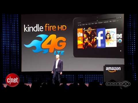 GS News - Amazon Announces Kindle Fire HD