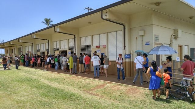 Strong turnout for Hawaii Democrats leads to confusion, frustration / ..polls were kept open at half hour intervals; if no one came in for half an hour, the poll closed. | Star Advertiser - March 26, 2016