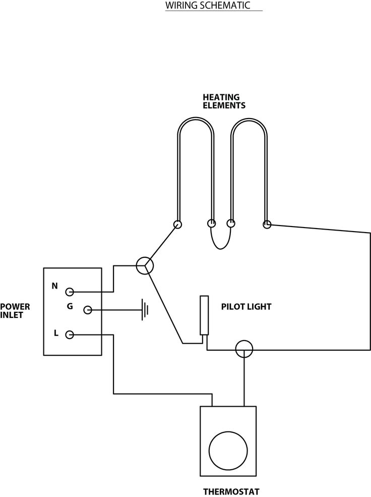 Baseboard Heater Thermostat, Heater Wiring Diagram