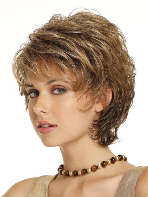 Daily Hairstyles For Curly Short Hair : Top 25 best short layered hairstyles ideas on pinterest