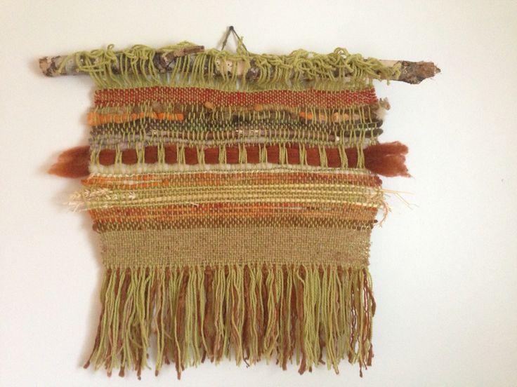 Telar de muro, con espigas de trigo