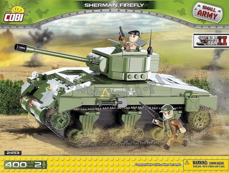 Sherman Firefly M4A4 - amerykański czołg średni